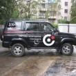 Пример брендирование и размещение рекламы на джипах